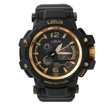 手錶 金剛戰士黑金配色雙顯電子膠錶 日本機芯設計 防水30米 柒彩年代【NE1874】個性款式 - 限時優惠好康折扣