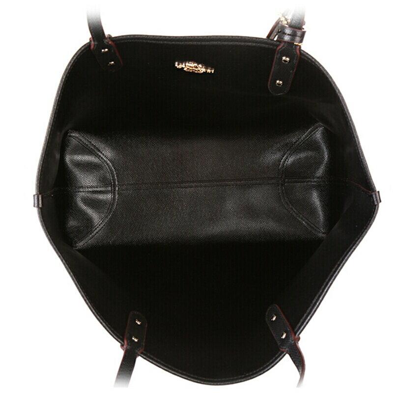 COACH   F36658 女士女包PVC配皮單肩手提包托特包TOTE大號 5