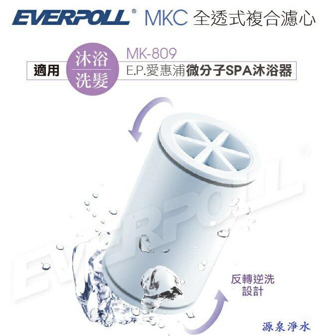【EVERPOLL】愛惠浦科技微分子SPA沐浴器-專用濾芯(MKC)