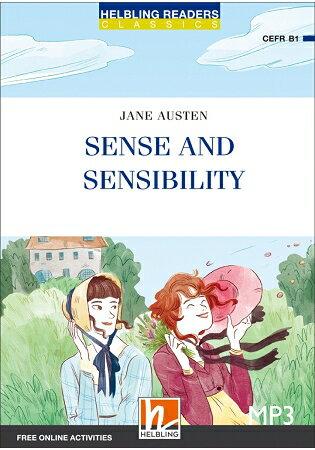 SenseandSensibility(25K彩圖經典文學改寫+1MP3)