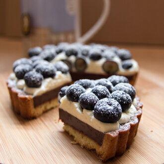 Cocolicious口口好吃|藍莓生巧塔 4.5吋 - 限時優惠好康折扣