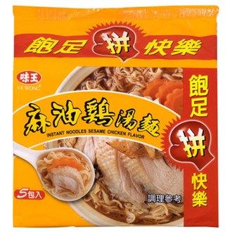 味王 麻油雞湯麵 90g (5入)/袋
