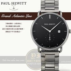 PAUL HEWITT德國工藝 Grand Atlantic Line英倫時尚小秒針紳士腕錶PH-TGA-GM-B-4M公司貨