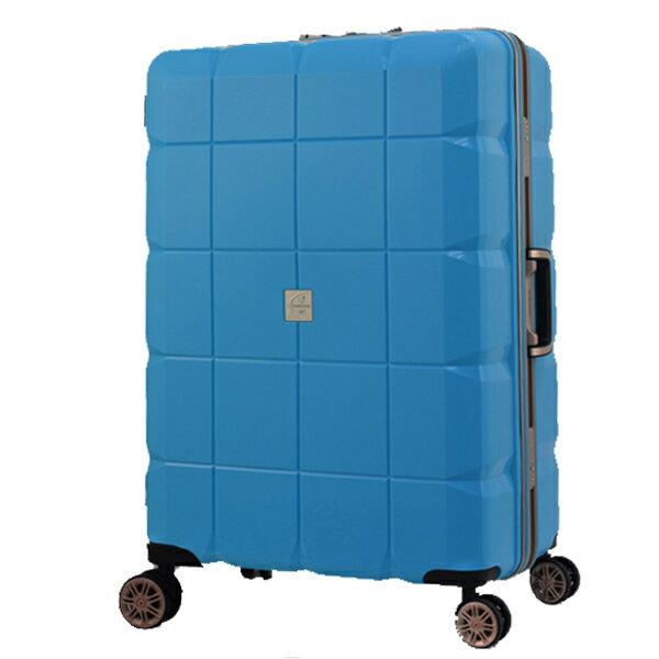 日本 LEGEND WALKER 6023-60-25吋 PP輕量行李箱 天空藍
