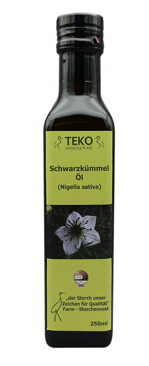 TEKO特級黑種草(籽)油250ml