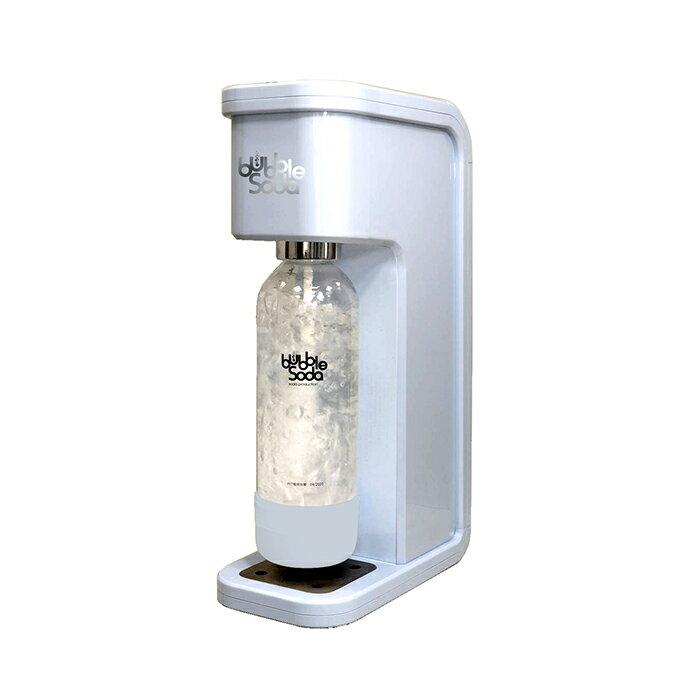 《法國Bubble Soda》免插電全自動氣泡水機(粉藍) BS-305 組合價更優惠