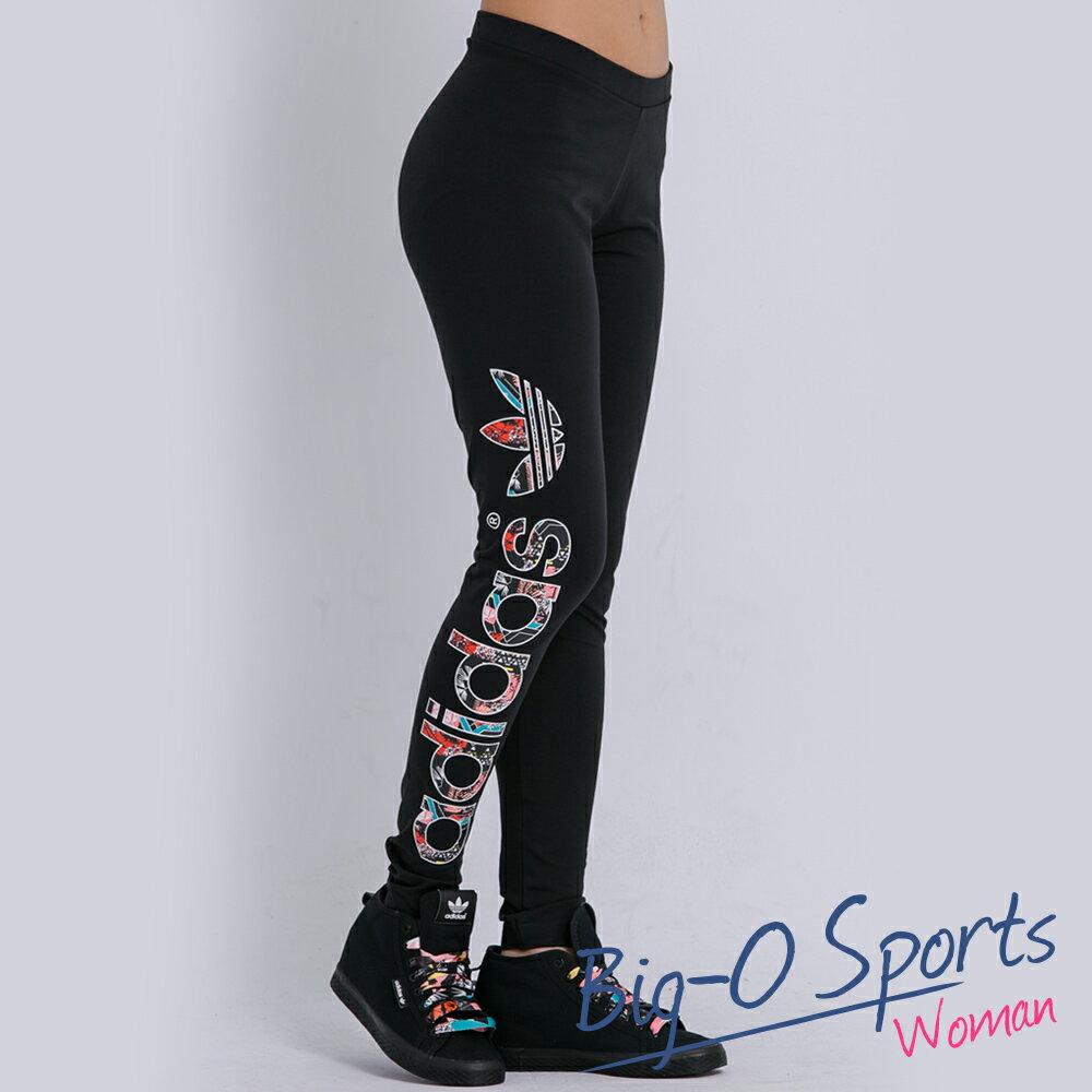 ADIDAS 愛迪達 LINEAR LEGGINGS 緊身長褲 女 AJ8076 Big-O SPORTS
