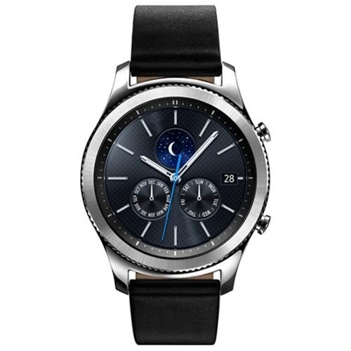Samsung Gear S3 classic Smart Watch - Wrist - Accelerometer, Barometer, Gyro Sensor, Heart Rate Monitor, Ambient Light Sensor, Altimeter - Text Messaging, Email - Heart Rate, Sleep Quality, Speed, Steps Taken - Samsung Exynos 7270 1 GHz Dual-core (2 Core)