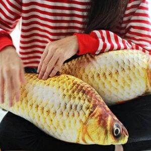 美麗大街【106011913】魚躍龍門 魚造型 抱枕 靠枕 枕頭