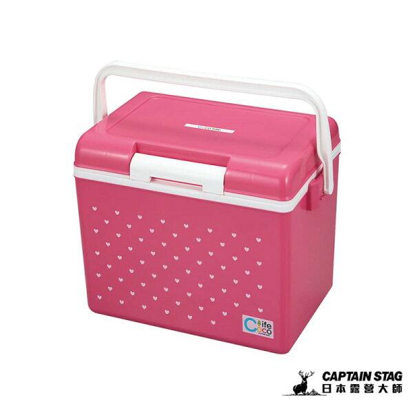 ├登山樂┤日本CaptainStag鹿牌CoCoLife保冷冰箱14L-粉紅#UE-61