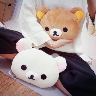 PGS7 日本拉拉熊系列商品 - 拉拉熊 Rilakkuma 懶懶熊 午安枕 9吋 抱枕 娃娃 玩偶【SJB61218】