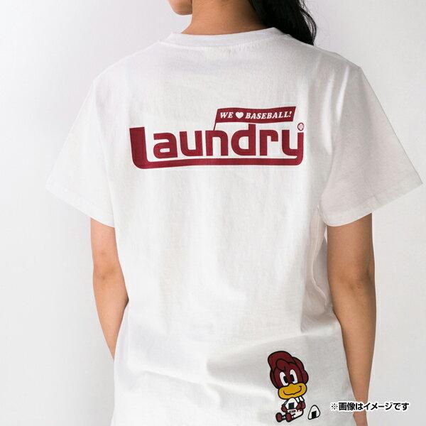 日本職棒 東北樂天金鷲隊  /  Laundry 聯名 T恤  /  白色  /  c0302887  /  日本必買 日本樂天直送  /  件件含運 3
