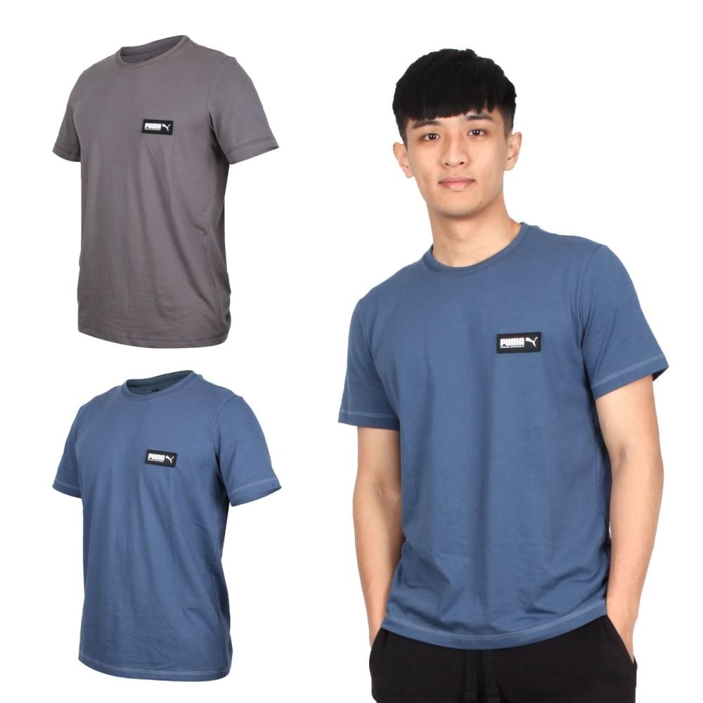 PUMA 男基本系列短袖T恤(慢跑 純棉 休閒 亞規【582687】≡排汗專家≡