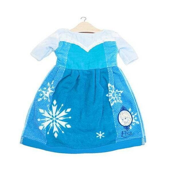 X射線【C581652】艾莎女王造型擦手巾,浴巾/毛巾/盥洗小物/抹布/迪士尼/冰雪奇緣/安娜/雪寶