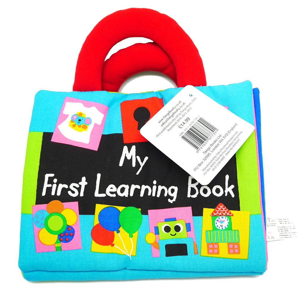 My First Learning Book 寶寶的概念學習布書