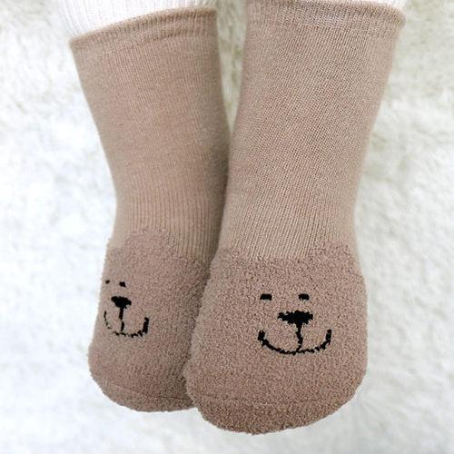 童襪 寶寶襪 珊瑚絨立體短襪 嬰兒襪 防滑襪 0-4歲 CA1207
