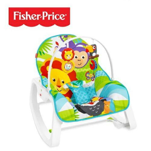Fisher-Price 費雪 動物安撫躺椅★愛兒麗婦幼用品★ - 限時優惠好康折扣