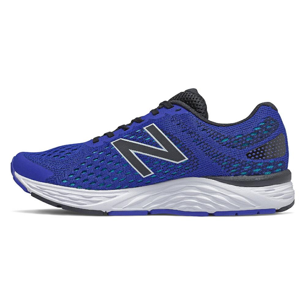 【滿額最高折318】New Balance 680v6 2E 男鞋 慢跑 網布 輕量 避震 藍【運動世界】M680CT6