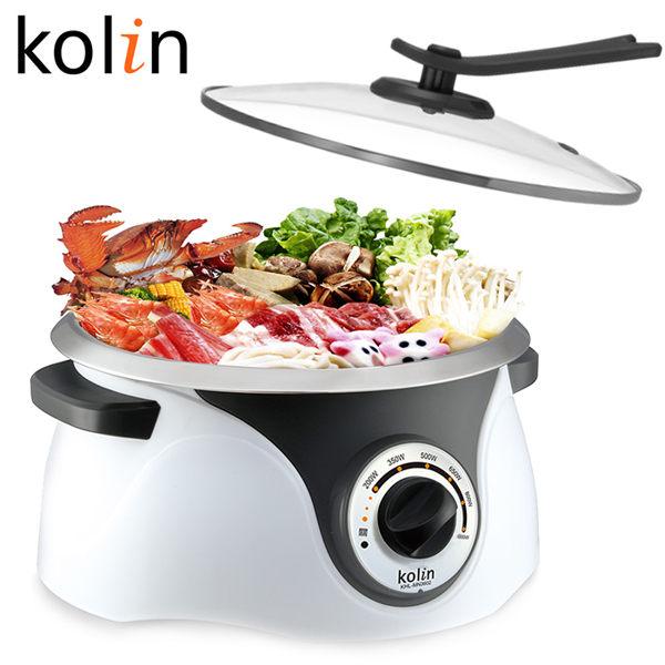 歌林 Kolin 3.6L不鏽鋼多功能料理鍋 KHL-MN3602/料理鍋/美食鍋/調理鍋/電鍋/蒸煮鍋【馬尼行動通訊】