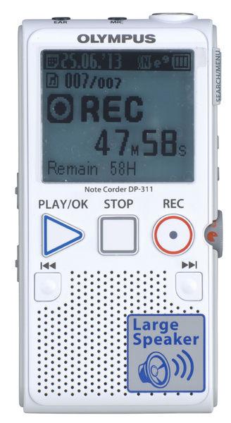 OLYMPUS 奧林巴斯 DP311  錄音筆 2GB