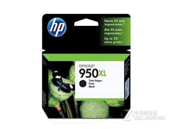 HP 惠普 黑色墨水匣 No.950XL CN045AA