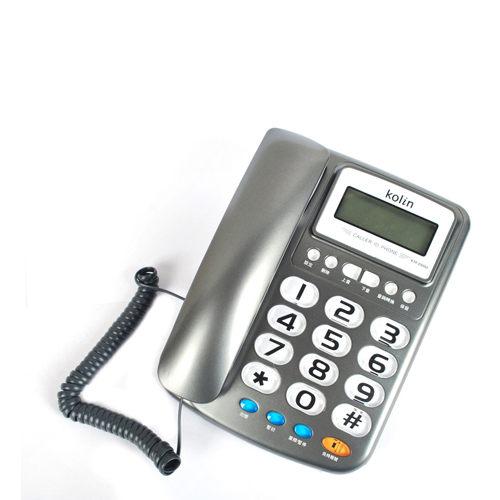 Kolin 歌林 KTPDS002 / KTP-DS002 有線電話機(免裝電池)