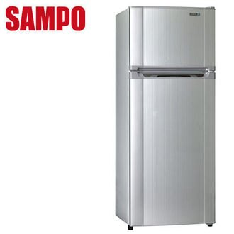 SAMPO 聲寶 SRL34G(S2) 新節能雙門冰箱(340L) ★指定區域配送安裝★