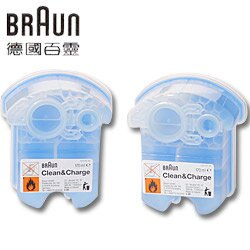 BRAUN 百靈 75024203 匣式清潔液2入