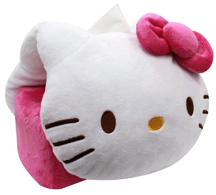 599免運~Hello Kitty 兩用型車用面紙套,車椅套