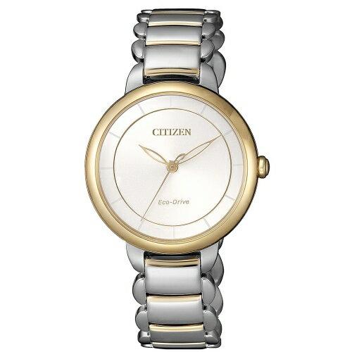 CITIZENL系列心動時刻光動能腕錶EM0674-81A