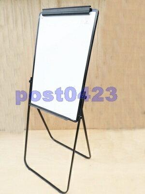 【小工人】U型白板架60*90cm U型白板 單面便攜白板架 可升降掛紙白板