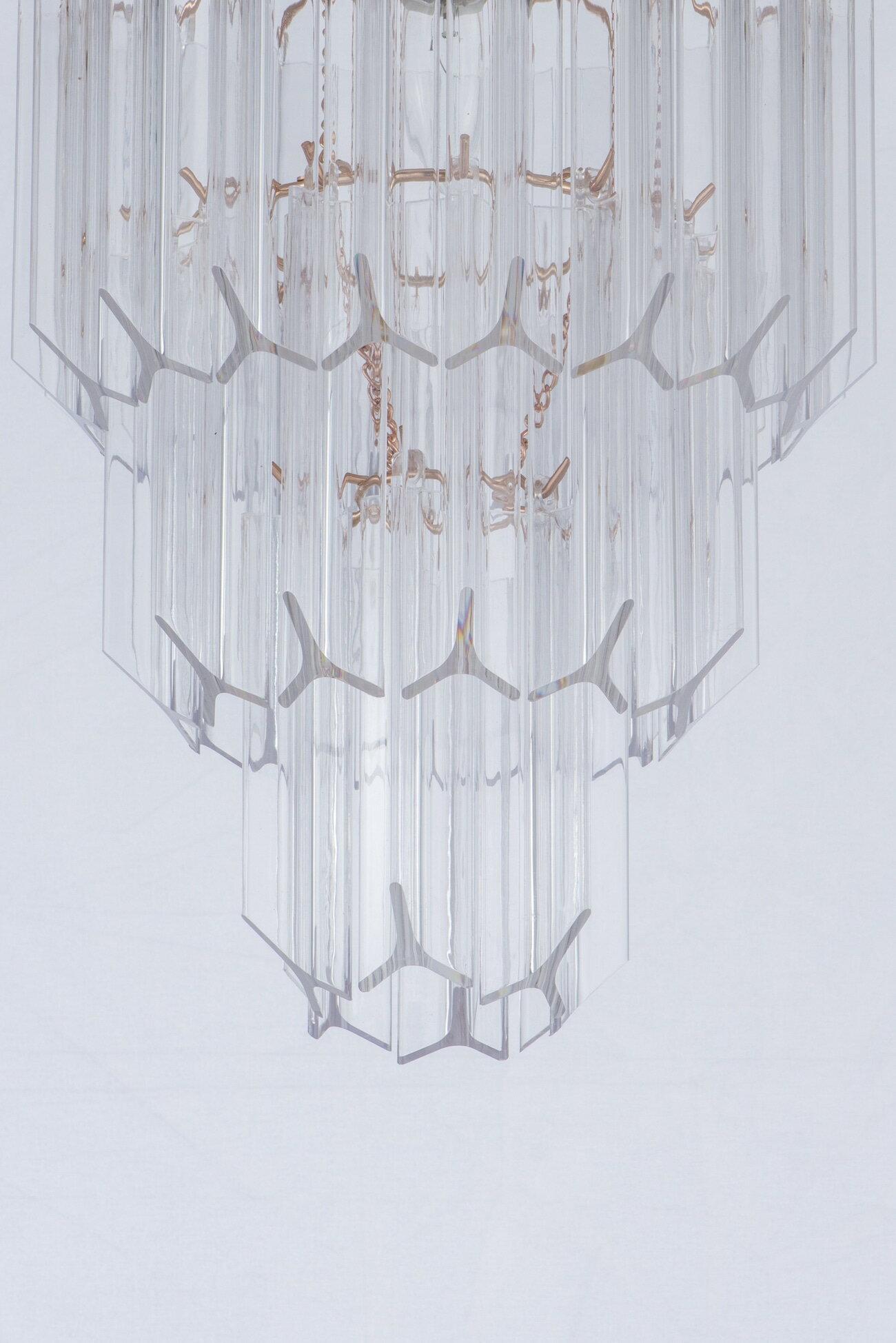 法國金透明壓克立吊燈-BNL00067 1
