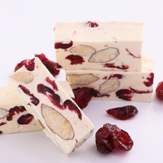 【櫻桃爺爺】紅寶石蔓越莓牛軋糖250g 1