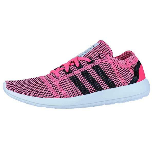 【ADIDAS】ELEMENT REFINE TRICOT W 慢跑鞋 運動鞋 粉色 女鞋 -M18917