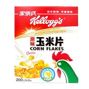 家樂氏 原味玉米片 200g/盒