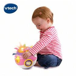 ★Vtech系列滿$1999再送收納箱★ 美國【Vtech】炫彩聲光滾滾球(47353)