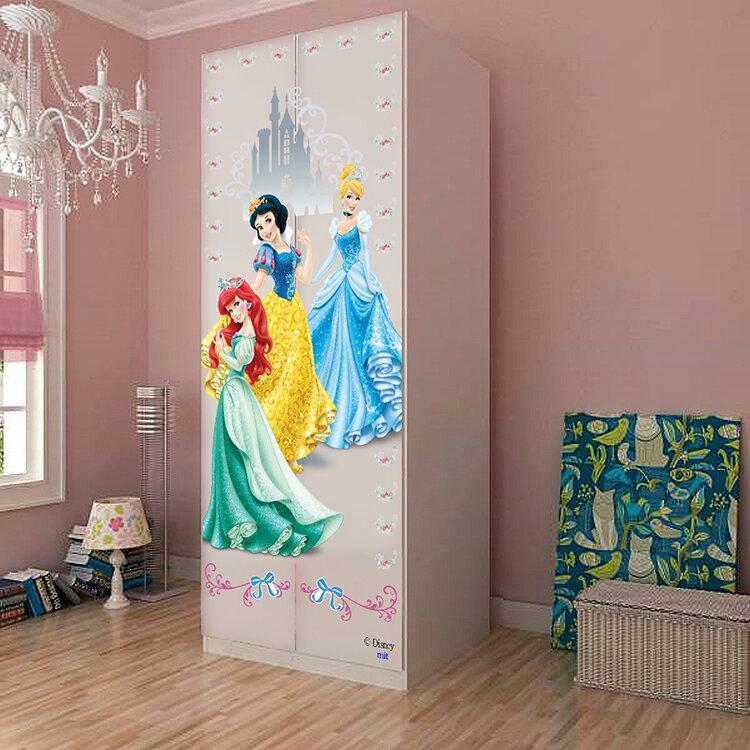 [首雅傢俬]MIT 迪士尼系列-多款式 兩門衣櫃 米奇家族.米妮.公主.麥坤.維尼衣櫃