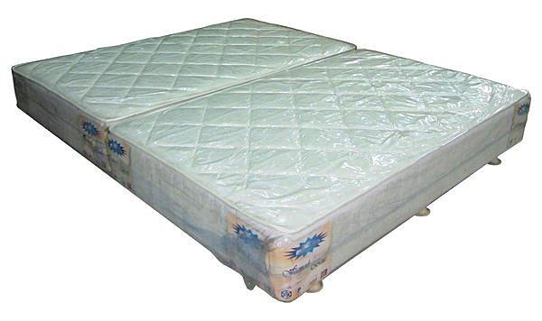 【尚品傢俱】313-12 連結式彈簧床墊下墊布面5尺床底~台灣製造
