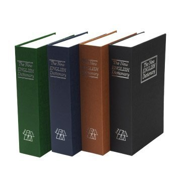 Loxin【SL0662】TRENY 書型保險箱-M號24*15.5*5.5cm仿真書鑰匙鎖保險箱 保險箱 小型保險箱 金庫