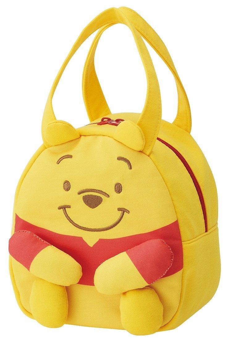 X射線【C374388】小熊維尼Winnie the Pooh 立體手腳保冷手提袋,美妝小物包/筆袋/面紙包/化妝包/零錢包/收納包/皮夾/手機袋/鑰匙包