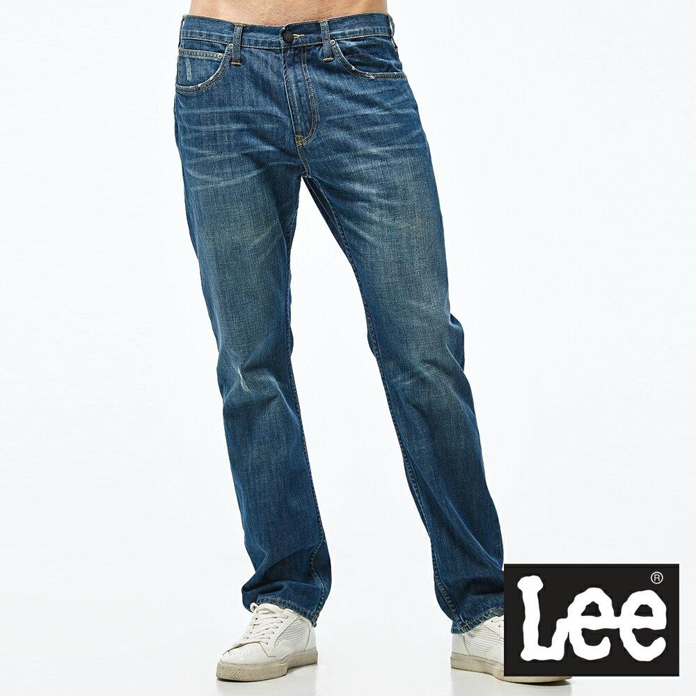 Lee 743 中腰舒適直筒牛仔褲-男款