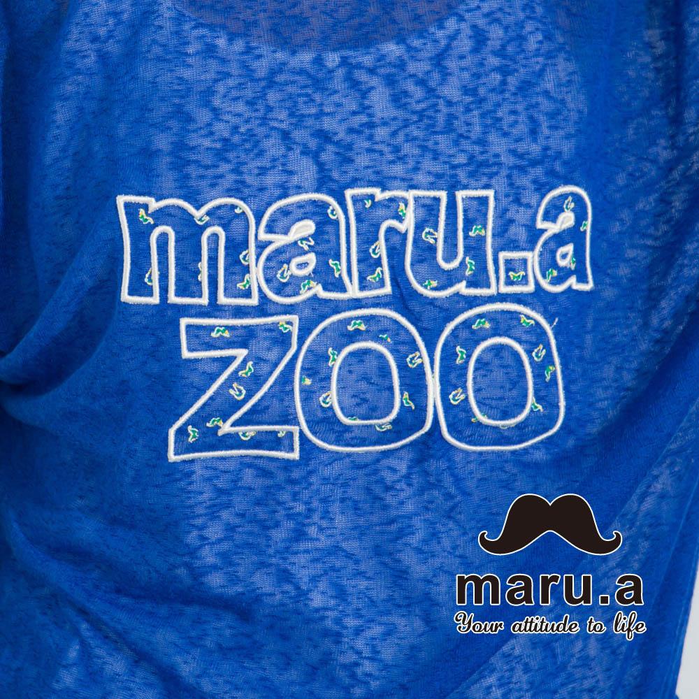 【maru.a】Maru.aZoo刺繡印花文字上衣 7323115 4