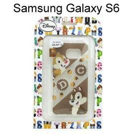 迪士尼透明軟殼 Samsung G9200 Galaxy S6 ^~ 拍檔^~ 奇奇  蒂
