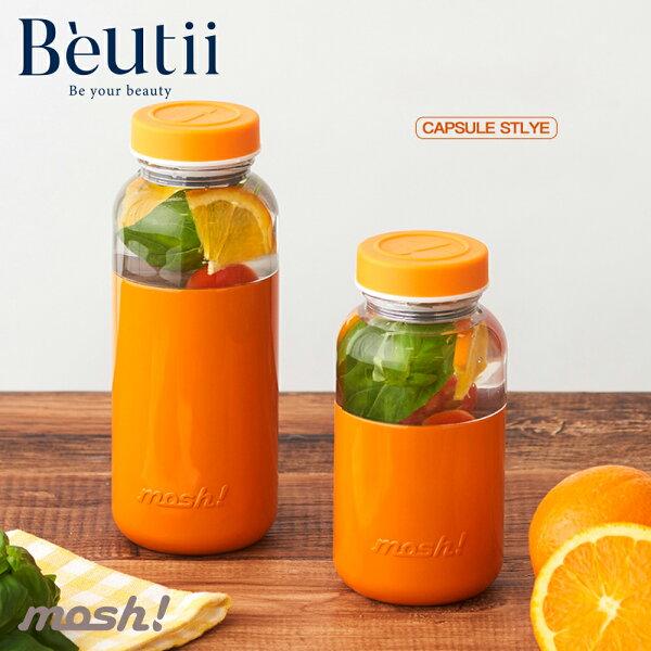 日本MOSH!不鏽鋼保冷瓶350ML沙拉水果保冷環保水壺