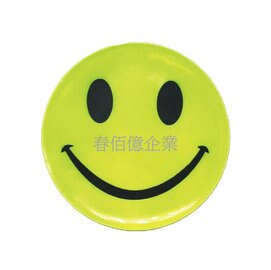 (11元)微笑反光貼1組4入 / 夜間路跑 / 兒童安全 / 老人安全 / 夜間單車族 / 機車反光貼 / 汽車反光貼 0