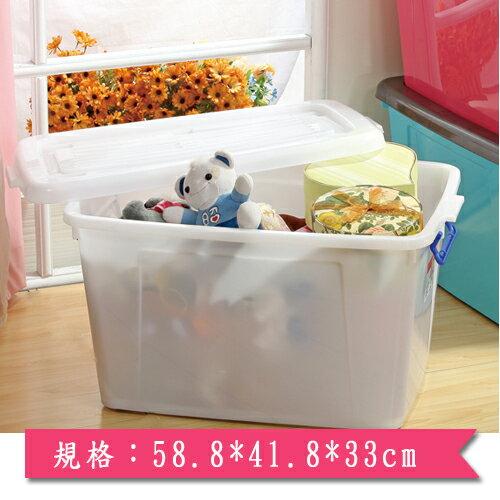 KEYWAY 多用途滑輪整理箱K-601(58.8*41.8*33cm)【愛買】