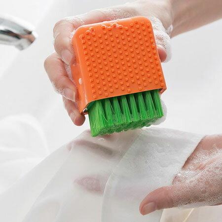 盆栽兩用矽膠刷刷子洗衣刷衣物清潔貼身衣物創意小物【B062952】