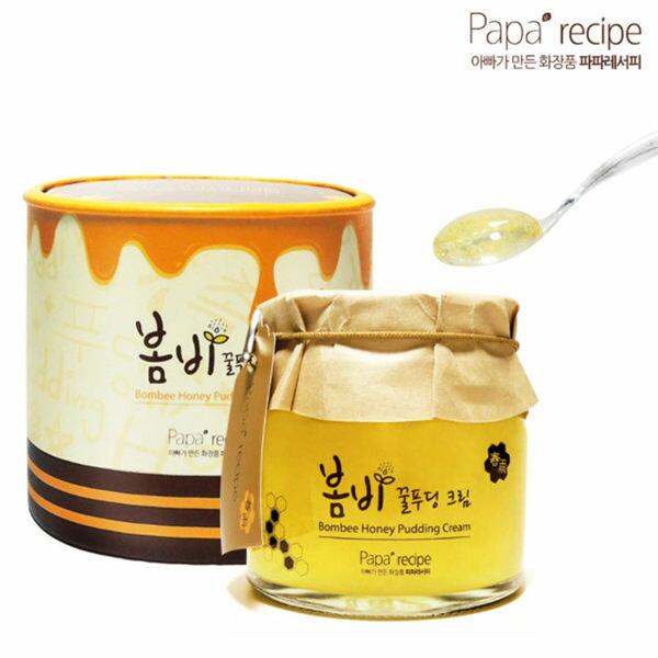 韓國Paparecipe春雨蜂蜜果凍超滋潤面霜(135mL)【庫奇小舖】