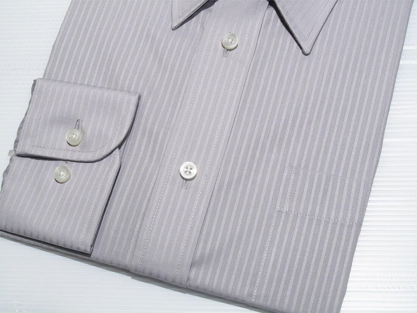 腰身剪裁正式襯衫 直條紋襯衫 舒適標準襯衫 面試襯衫 上班族襯衫 商務襯衫 長袖襯衫 不皺免燙襯衫 (322-3794)淺藍直條紋、(322-3795)淺灰直條紋 領圍:15~18英吋 [實體店面保障] sun-e322 8