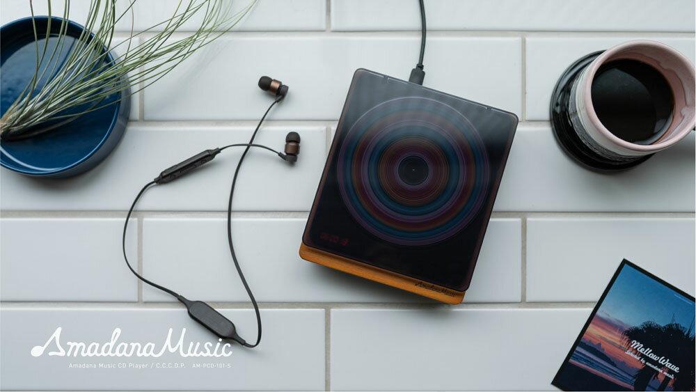 日本仿復古黑膠播放器 Amadana Music CD Player C.C.C.D.P. -日本必買 日本樂天代購(13200) /  件件含運 3